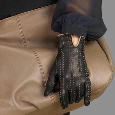 gant marron ave ccouture