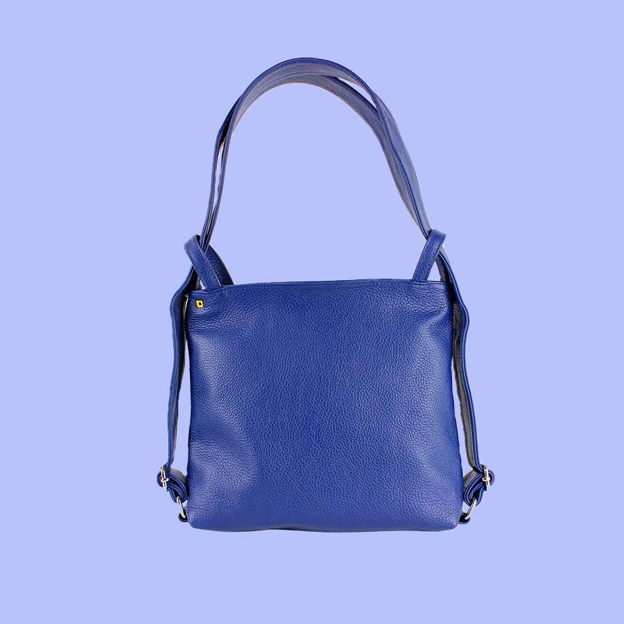sac bleu- sur- jaune
