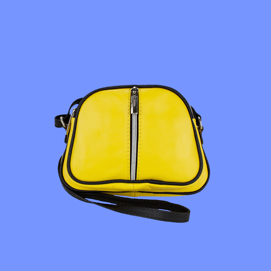 sac jaune-sur-bleu